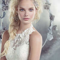 Bridal Gowns, Wedding Dresses by Alvina Valenta - Style AV9302