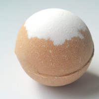 Caramel Latte Bath Bomb by ZEN-ful, Bath Fizzy, Made with Organic Cocoa, Gift Ideas, Gifts For Her, Bath Bombs, 5.5 oz