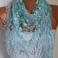 Etsy - Women Shawl Scarf - Headband Necklace Cowl/76961837