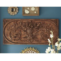 Grande Bouquet Plaque | Ballard Designs