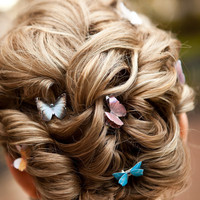 Butterfly For Wedding Hair Colorful Boho PICK by SpotLightJewelry