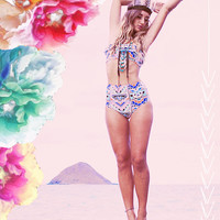 KAAWA high waisted bikini bottoms - Create your Own, seen in DISFUNKSHION MAGAZINE