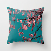 Cotton Candy Dreams Throw Pillow by Ann B. | Society6