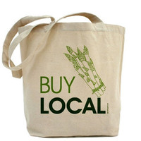 Buy Local Canvas Tote by PamelaFugateDesigns