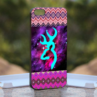 Aztec Browning Nebula Purple - Design available for iPhone 4 / 4S and iPhone 5 Case - black, white and clear cases