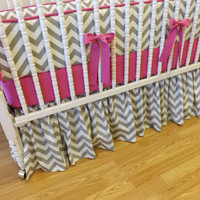 Made to Order 3 pc Chevron Bedding Set