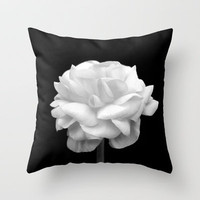 Black And White Throw Pillow by Bree Madden  | Society6