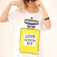 WILDFOX Love Potion No. 9 Tee - White $74