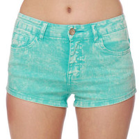 Acid Dye Shorts - Blue Shorts - Denim Shorts - $35.00