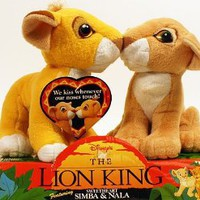 Amazon.com: Disney's The Lion King Sweetheart Simba & Nala: Toys & Games