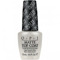 OPI Matte Top Coat, 0.5 fl oz