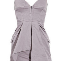Preen Line Angelo stretch-cotton dress - 50% Off Now at THE OUTNET