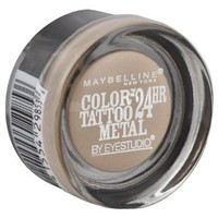 Amazon.com: NEW Maybelline Color Tattoo Metal 24hr Eyeshadow - 70 Barely Branded: Beauty