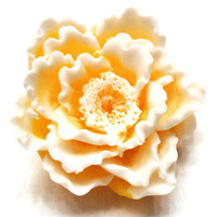 Sunshine Peony Soap  Easter Decorative Gift Soap  by EcoChicSoaps