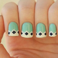 My Style / Vintage Nail Art on we heart it / visual bookmark #25742520