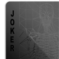 Black deck of cards  - MollaSpace.com