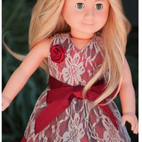 Lace Doll Dress Up