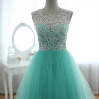 Elegant chiffon floor-length dress - multi colors in from Your Closets