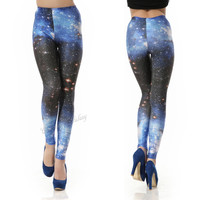 Classic Galaxy Leggings Pants Blue from Galaxy Leggings