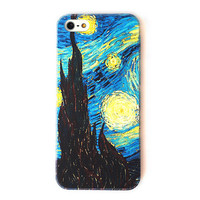 Van Gogh The Starry Night Color Phone Case For iPhone 5 from The Geek Heaven