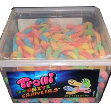 Trolli Sour Brite Crawlers, 63oz Tub: Grocery & Gourmet Food