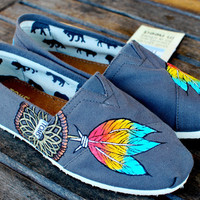 Native American Dream Catcher TOMS by BStreetShoes on Etsy