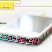 Apple iPhone Decal iPhone 4s Sticker Avery iPhone 5 by ohyeahdecal
