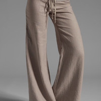 krisa Wide Leg Linen Pant in Ash from REVOLVEclothing.com