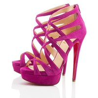Christian Louboutin Balota 150mm Shoes Red - &amp;#36;162.00