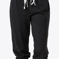French Terry Drawstring PJ Capris | FOREVER 21 - 2017025964