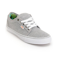 Vans Chukka Low Grey Jersey &amp; Hawaii Mint Skate Shoes