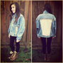 ON SALE Studs & Lace Denim Jacket by PeaceLoveStuds on Etsy