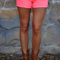 Glow In The Dark Shorts: Neon Pink | Hope&#x27;s