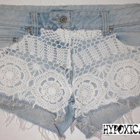 HypoxicAndLost  Reconstructed Vintage  Frayed by hypoxicandlost