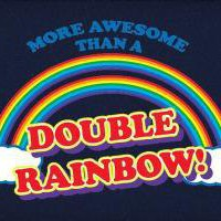 More Awesome Than A Double Rainbow T-Shirt
