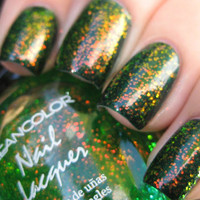 New! KLEANCOLOR ♥ CHUNKY HOLO CLOVER ♥ HOLOGRAPHIC GLITTER Nail Polish!