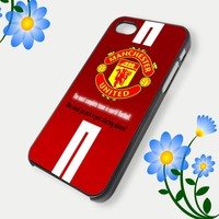 iPhone Case Manchester united for iPhone 4, iPhone 5, Samsung S3, Samsung S2 Hot Edition