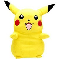 Pokemon Pikachu HUGE! 25 inch Tall Cuddle Pillow Cushion
