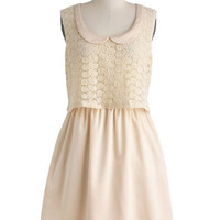 Tulle Clothing Ivory Now and Then Dress | Mod Retro Vintage Dresses | ModCloth.com