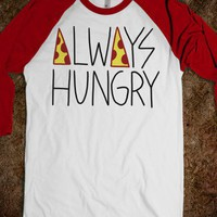 Always Hungry - Rad Fortress - Skreened T-shirts, Organic Shirts, Hoodies, Kids Tees, Baby One-Pieces and Tote Bags