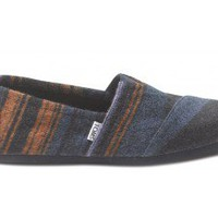 Blue Blanket Knit Men's Classics | TOMS.com
