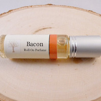 Roll On Perfume Bacon Scented Perfume by TheMarulaTreeSoapCo