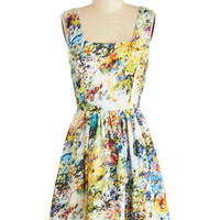 Floral Incandescence Dress | Mod Retro Vintage Dresses | ModCloth.com