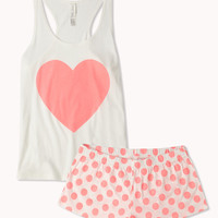 Hearts &amp; Dots PJ Set