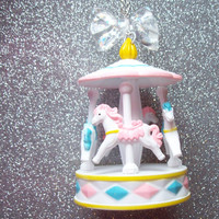 Sweet Starlight Carousel Necklace