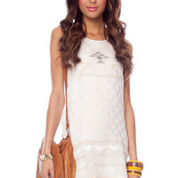 Dolce Vita Mary Sue Dress in Creme :: tobi