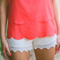 Lace Shorts - New Arrivals