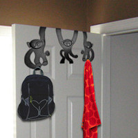 Hanging Monkeys | Monkey door clothes hooks to tidy the room - LatestBuy Australia