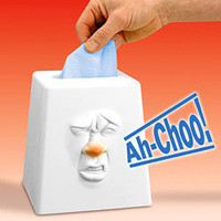 Sneezing Tissue Box | Feeling unwell Heal yourself with this hilarious talking tissue box! - LatestBuy Australia