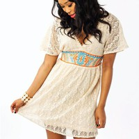 lace-embroidered-dress CREAM - GoJane.com